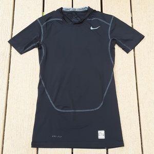 Nike Pro Combat Dri Fit Compression Black T shirt